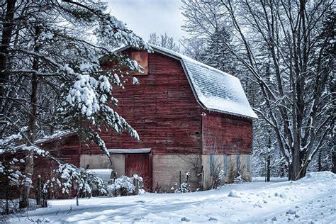 Winter Barn winter barn photograph by lauri novak
