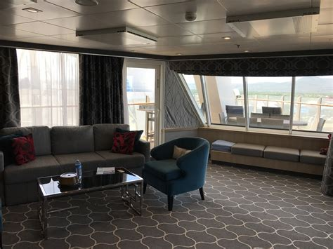 two bedroom aquatheater suite with balcony on harmony of harmony of the seas royal caribbean blog