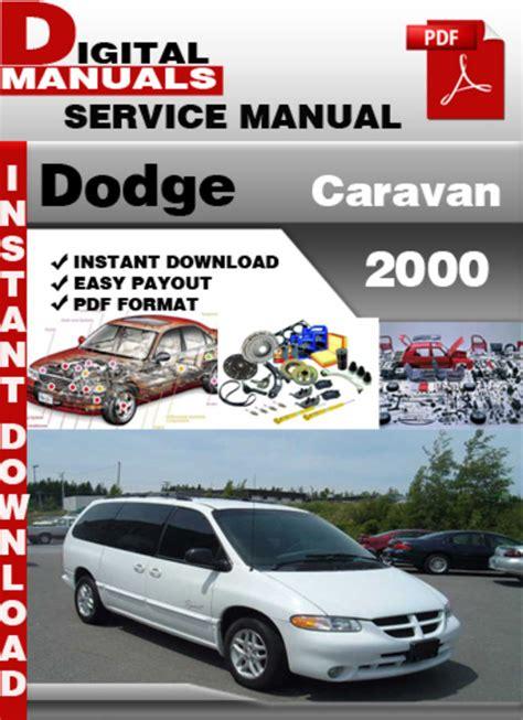 free online auto service manuals 2000 dodge caravan interior lighting dodge caravan 2000 factory service repair manual download manuals