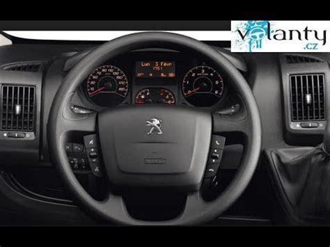 remove steering wheel airbag peugeot boxer youtube