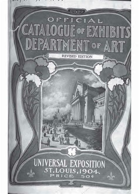 official catalogue of exhibitors universal exposition st louis u s a 1904 classic reprint books gustav jahn 1879 1919 alpenmaler und alpinist