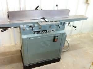 Used Delta Jointer Unisaw Baldor Buffer Makor Moulding Bed Joiner