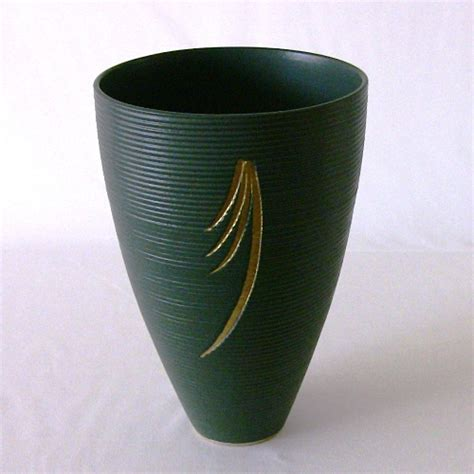 Ikenobo Vase by Ikebana By Junko Japanese Flower Arrangement Of