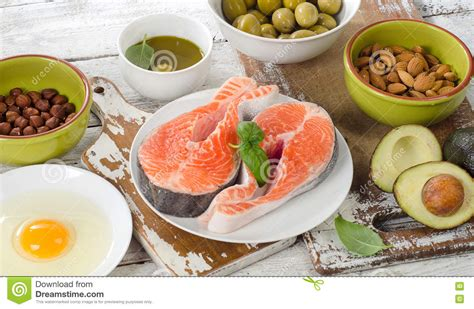 3 healthy food sources of fats food sources of unsaturated fats stock photo image 75656305