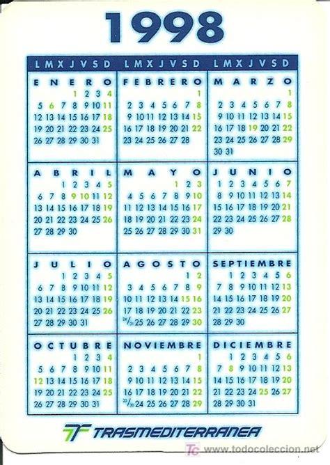 calendario de la compa 241 237 a trasmediterr 225 nea a 241 o comprar