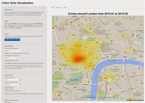 visualization of the week forecasting visualization of the week crimemap insidebigdata