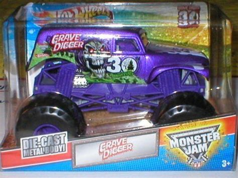 purple grave digger truck grave digger limited edition purple ediotion 1