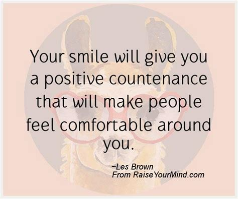 How To Make A Feel Comfortable by Your Smile Will Give You A Positive Countenance That Will