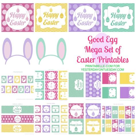 free easter printables a to zebra celebrations