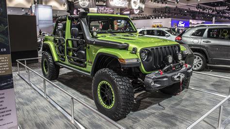 mopar jeep wrangler mopar modified 2018 jeep wrangler rubicon la 2017