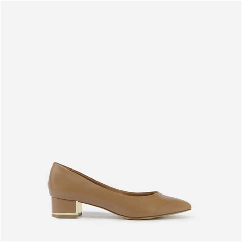 Pointed Toe Pumps Sepatu Heels Charles Keith Disney pointed block heel pumps camel heels shoes charles