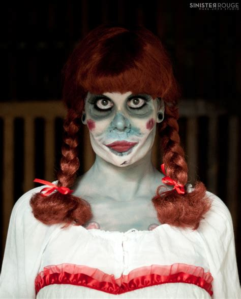 annabelle doll halloween makeup annabelle doll the conjuring inspired halloween