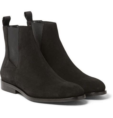balenciaga suede chelsea boots zara makes some
