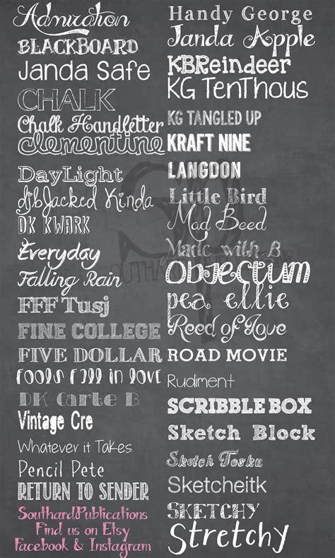 dafont chalk southard belle free chalkboard fonts