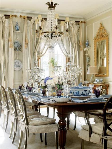 Blue And White Dining Rooms by Beautiful Dining Room By Nela Interiores