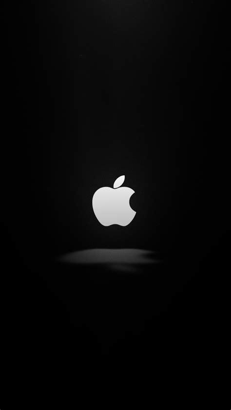 Wallpaper Apple, Dark, Logo, 4K, Minimal, #9339