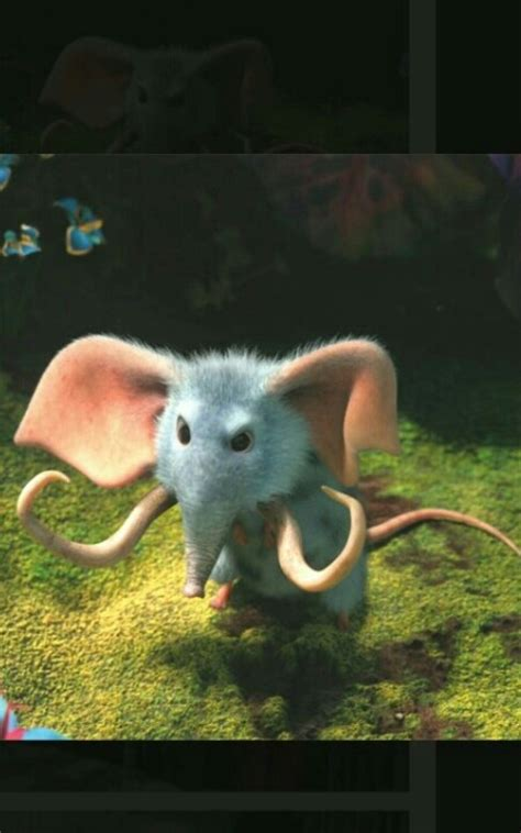 Mouse Elephant mouse elephant from the croods dumbo in