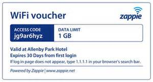 Voucher Wifi zappie wifi features