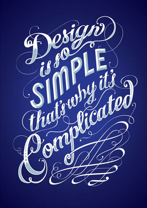 typography in inspirational typography design quotes for graphic designers