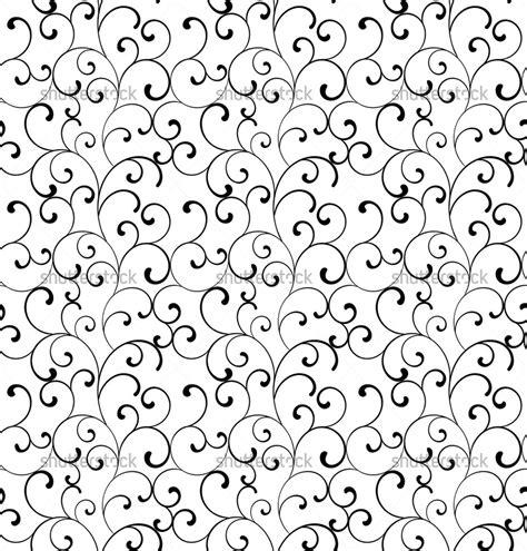 Black And White Swirl Pattern | black and white swirl patterns