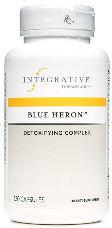 Blue Heron Detox Cleanse Pills by Blue Heron Nf Formulas By Integrative Therapeutics