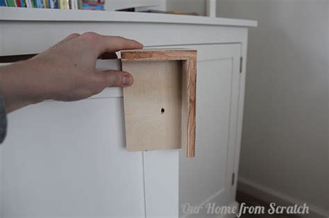 Cabinet Door Jig Hometalk Make A Simple Jig For Installing Cabinet Door Hardware