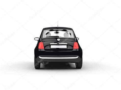 small cars black small black economic car back shot stock photo 169 svitac