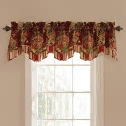 Waverly Kitchen Curtains Waverly Ballad Bouquet Lined Window Valance At Hayneedle