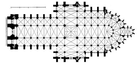 notre dame cathedral floor plan medieval amiens