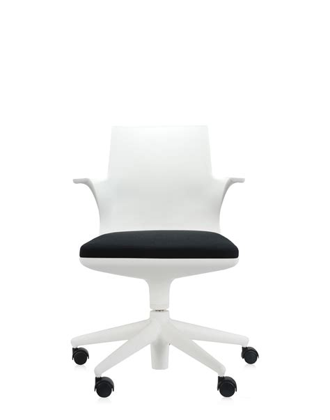 kartell ufficio kartell sedia ufficio spoon chair bianco nero sedie