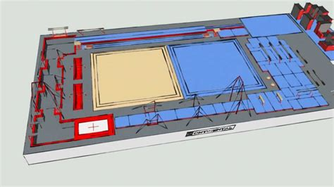 gymnastics gym layout gymnastics training facility design process youtube