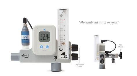 Mixer Oxygen 3 maxtec maxventuri oxygen blender mixer