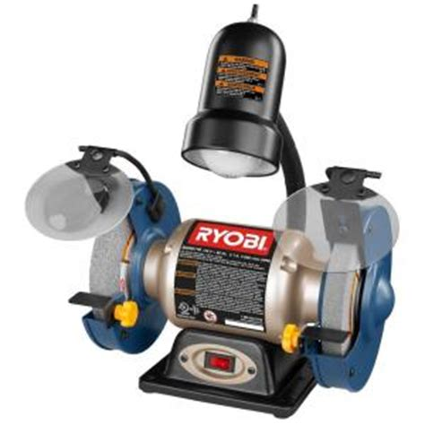 bench grinder canada ryobi 6 in bench grinder bgh6110 the home depot