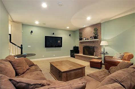 best family room colors choosing the right basement paint colors that work for you traba homes