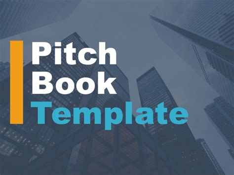 pitch book template investment banking pitch book template powerpoint template