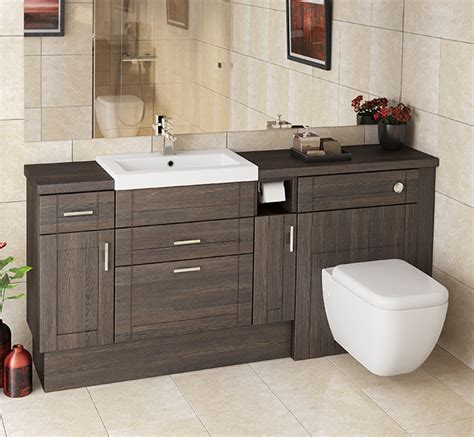 Cheap Fitted Bathroom Furniture Mallard Mali Oak Fitted Furniture