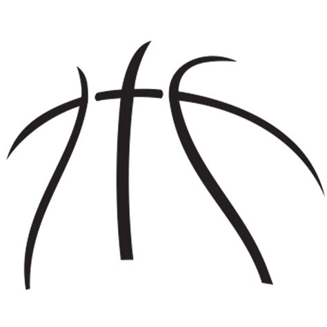 logo clipart basketball pencil and in color logo clipart