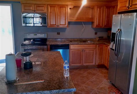 stainless kitchn wood cabinets creative remodeling