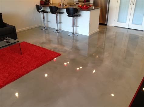 existing stained concrete floor makeover all innovative