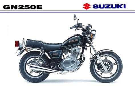 Suzuki Gn250 Workshop Manual 1997 Suzuki Gn 250 Moto Zombdrive