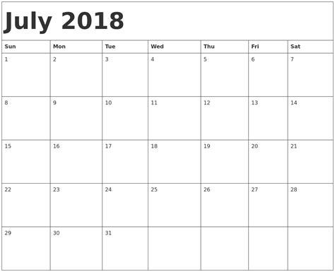 printable july 2018 calendar june and july 2018 calendar printable pertamini co