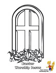 Church Window Coloring Pages Coloring Home Window Coloring Page