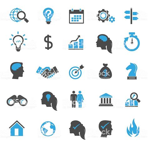 Vector Business Icons Set Royalty Free Stock Photos Image 1095468 Business Icons Stock Vector More Images Of Arranging 537716698 Istock