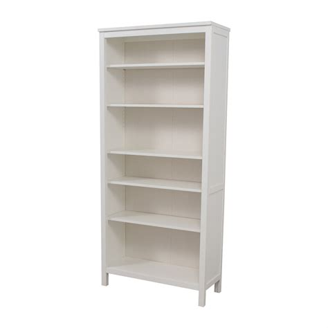 53 Off Ikea Ikea White Hemnes Bookshelf Storage Ikea Hemnes White Bookcase