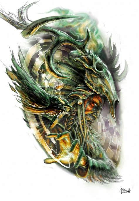 shaman tattoo designs techno shaman by loren86 on deviantart