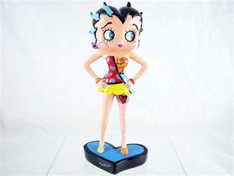 Resin Betty Boop betty boop with on hips betty boop by britto