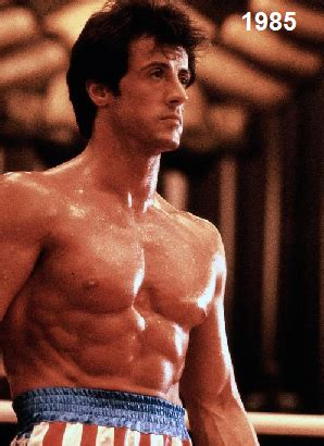 Sly In Steroids by Sylvester Stallone Steroids Or