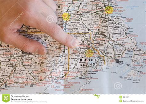 america map pointing pointing to map finding directions stock image