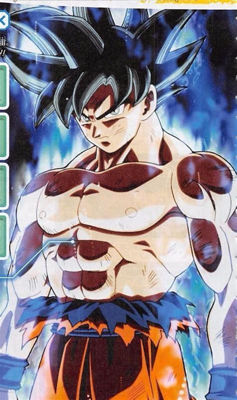 imagenes de goku nueva fase desvelada la nueva transformaci 243 n de goku en dragon ball super
