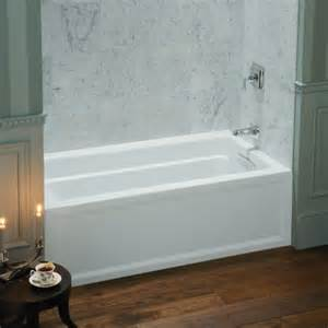 kohler archer 5 ft right drain soaking tub in white